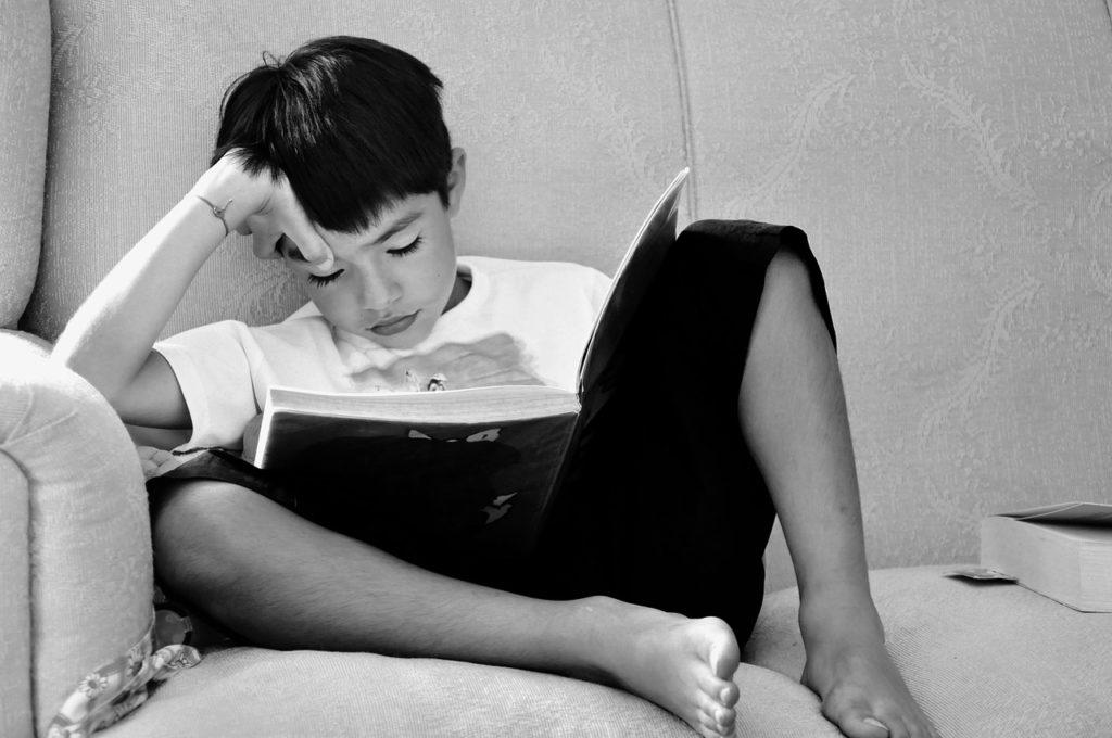 children-studying-reading