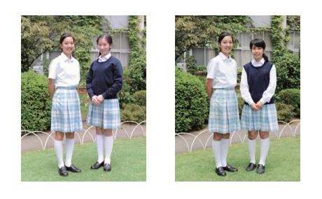 頌栄女子の制服3