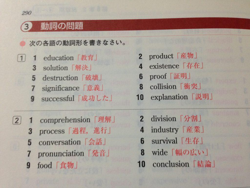 基礎英語頻出問題総演習-語彙の問題3