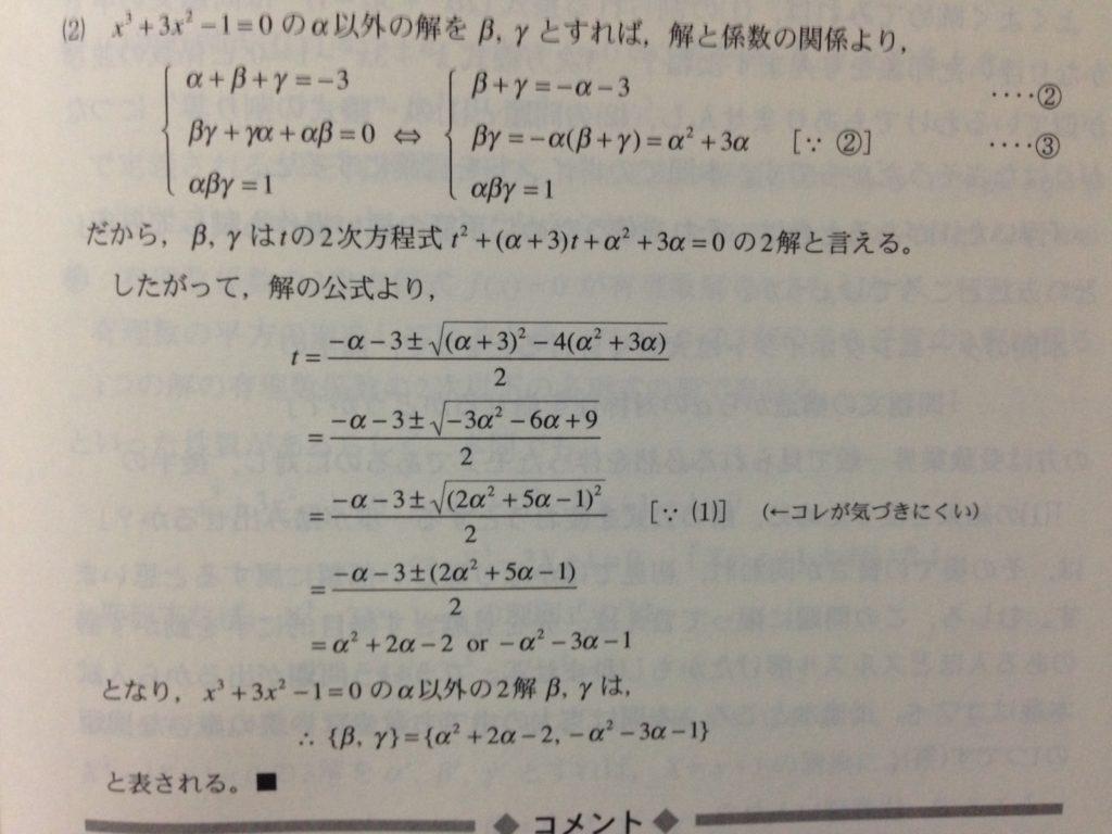 入試数学の掌握3-テーマ8-例題解答