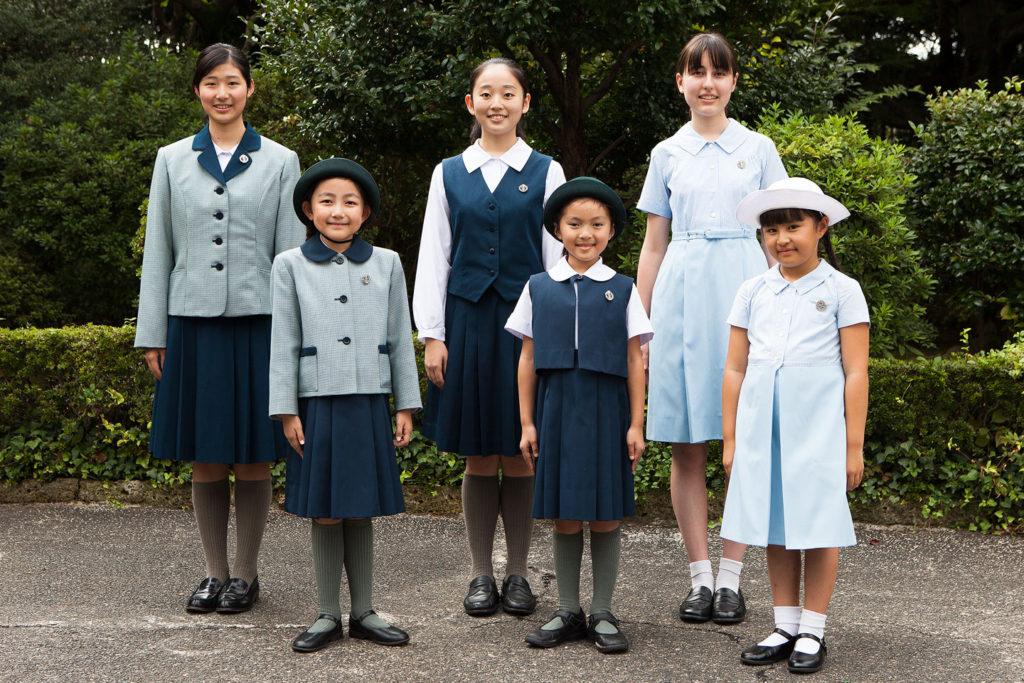 聖心女子学院の制服