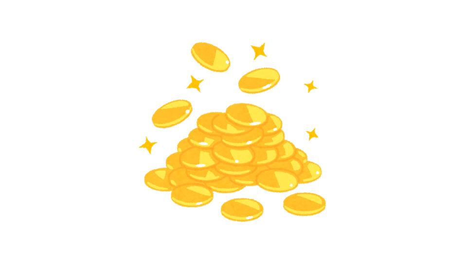 100枚の金貨