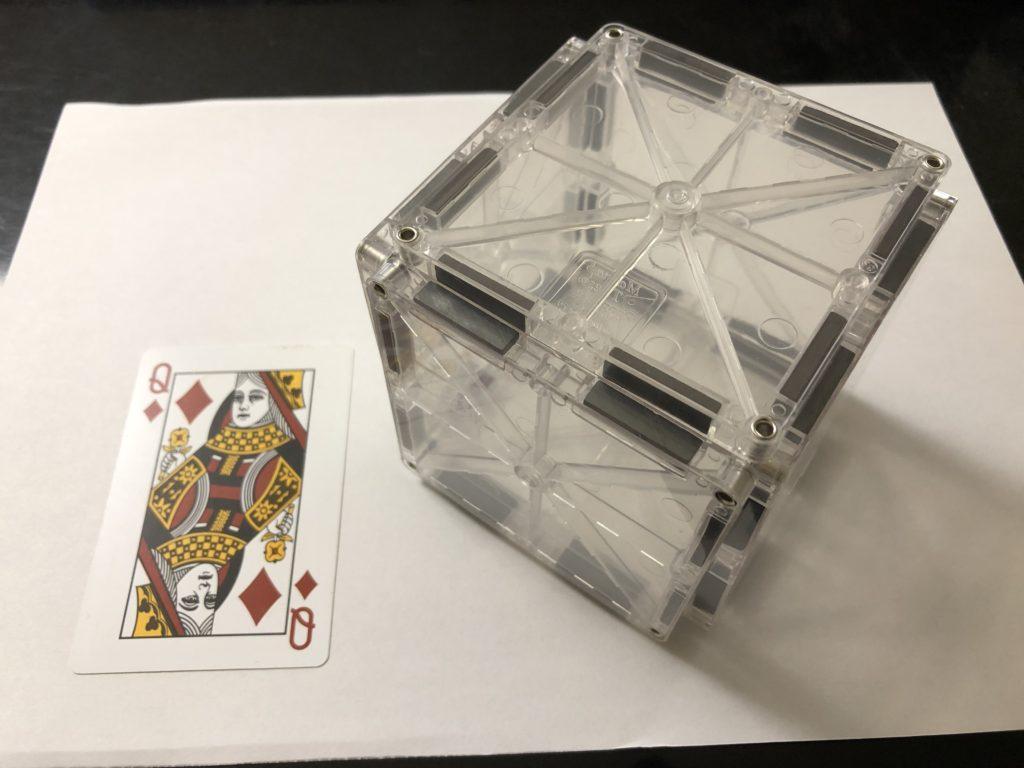 小学生ピタゴラス(高学年)、立方体とトランプ
