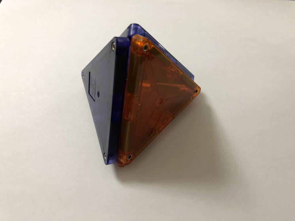 小学生ピタゴラス(高学年)、正四面体
