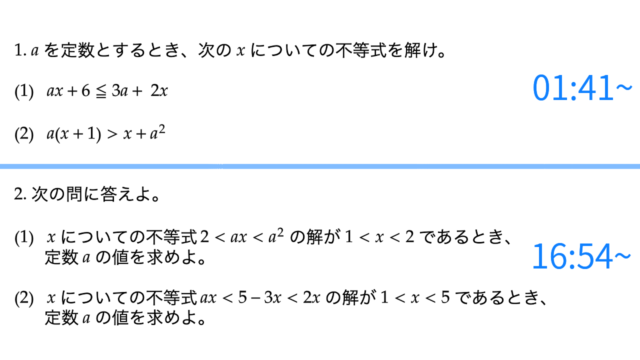 文字係数の一次不等式、サムネイル