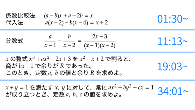 バリクソ数学、恒等式、サムネイル